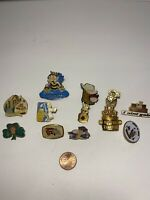 Vintage Royal Order Of Jesters Masonic Label Pin Lot RARE