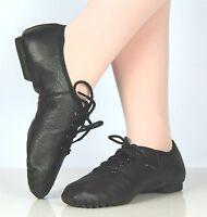 Ellis Bella Jazz shoes -- Split sole lace up Foot length 14.5 to 27 cm
