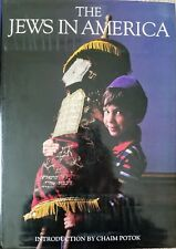 """""""The Jews in America"""", Edited by David Cohen - First Edition 1989"""