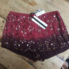 Brand New Top Shop Sequin Shorts size 8