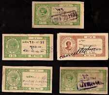 5 PALITANA (INDIAN STATE) Stamps