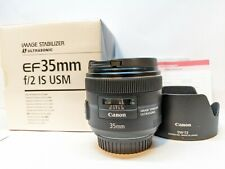 Canon EF 35mm f/2 IS USM Wide-Angle Lens - EXCELLENT CONDITION !!