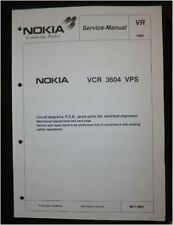 Service Manual  NOKIA VCR 3604 VPS