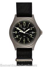 MWC G10SL 100m | Titanium | Hybrid |  Military Watch | 12/24 | Date | GTLS