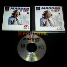 MADDEN NFL 97 Ps1 Versione Europea »»»»» COMPLETO