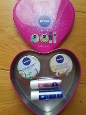 Nivea Sweet Lips Gift Set - Vanilla & Macadamia & Coconut lip butter set New