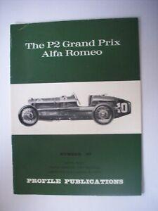 THE P2 GRAND PRIX ALFA ROMEO PROFILE PUBLICATIONS NO 87
