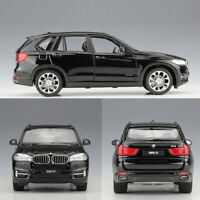 1:24 BMW X5 SUV Model Car Diecast Vehicle Collection Doors Open Black Boys Gift