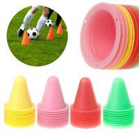 10 Pcs Skate Marker Cones Roller Soccer Football Training Equipment Marking Cup