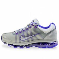 NIKE Air Max+ 2009 WMNS Running Shoes [476784-050] Wolf Grey/Wolf Grey Purple