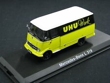 """Schuco Mercedes-Benz L319 1:43 """"UHU"""" (JS)"""