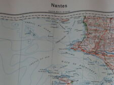 Nantes B37, carte seconde guerre, WW2