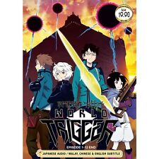 DVD World Trigger ( Vol. 1 - 12 End ) Eng SUB + Free Gift