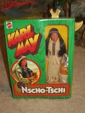 Big Jim - Karl May - NSCHO-TSCHI - OVP ! Mattel 2173- native Indian Maiden