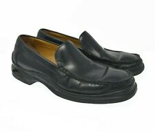 Cole Haan Nike Air Men's Sz 8.5M lot Black Leather Slip On Comfort Dress Loafers