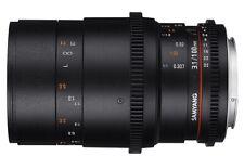 Samyang 100mm T3.1 VDSLR ED UMC MACRO Lens Canon Fit