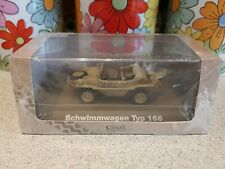 Atlas Collections Schwimmwagen Type 166 Army Military Car Vehicle Sealed Box