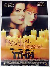 Practical Magic - Zauberhafte Schwestern - Kidman - A1 Filmposter Plakat (x-845