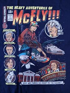 The Heavy Adventures of McFly Comics 15 Cents Back to The Future T-Shirt
