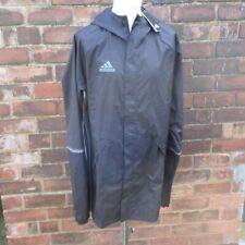 Adidas Training CON16 Rain Jacket NEW BNWT Men's Black Shower Proof XXL 2XL