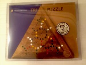 LAGOON Originals  TRI PUZZLE (Difficulty Hard) Puzzle Age 12/Adult Wooden