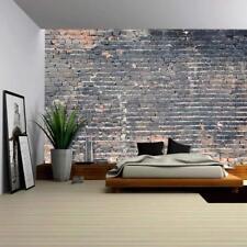 Wall26 - Dark Brick background - Canvas Art Wall Decor - 100x144 inches