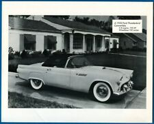 1955 Ford Thunderbird Convertible, V-8 Engine, 193 HP - Photo Print