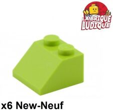 Lego 6x slope brick slope inclined roof roof 45 ° 2x2 green lemon/lime 3039 NEW