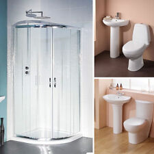 Bathroom Suites with Shower Enclosures