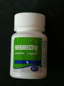 Iverrnect FP 3mg Antiparasitic for Dogs 50 tablets Free Shipping World Wide