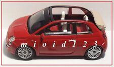 1/43 - Fiat Nuova 500C - Rosso Sfrontato - Die-cast MondoMotors