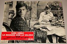 Claudia Cardinale Zurlini LA RAGAZZA CON LA VALIGIA fotobusta originale 1961 #2