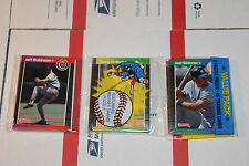 1989 Donruss Rack  Baseball Packs!! Vintage unopened Lot.