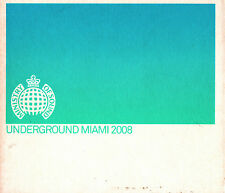 Ministry Of Sound Underground Miami 2008 * 3 CD Set * Mixed by Dipesh Parmar