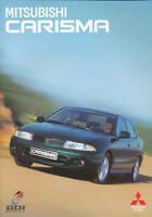 Mitsubishi Carisma Prospekt GB 1997 8/97 brochure prospectus prospetto brosjyre