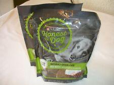 New! Purina Dog Treats Natural Beef Recipe Dog Chews Dog Food Two 5 Oz. Bags