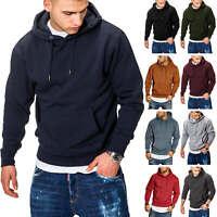 Jack & Jones Herren Hoodie Kapuzenpullover Pullover Sweater Casual Streetwear