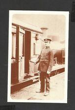 Nostalgia Postcard Marylebone Passenger GCR Guard  1907