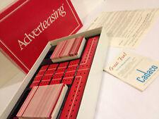 Adverteasing Game / vintage1988 Cadaco complete, excellent condition