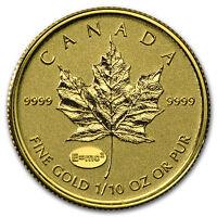 2015 Canada 1/10 oz Gold Maple Theory of Relativity Privy - SKU #93675