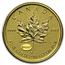 2015 Canada 1/10 oz Gold Maple - Theory of Relativity Privy - SKU #93675