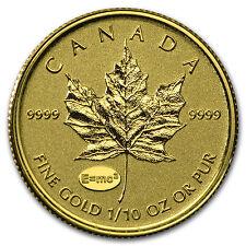 2015 Canada 1/10 oz Gold Maple - Theory of Relativity Privy - SKU #93675