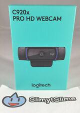 Logitech C920x Pro HD 1080p Webcam + XSplit (Stream, Skype, Zoom) NEW QUICK SHIP