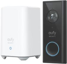 Eufy 2K Wireless Video Doorbell - Black (E8210CW1)