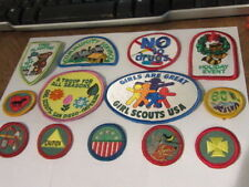 Girl Scout 1980-01 Junior Patches //Horse Lover,Sport Sampler,Pet Care,1st Aid J