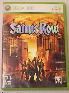 Saints Row (Microsoft Xbox 360, 2006)