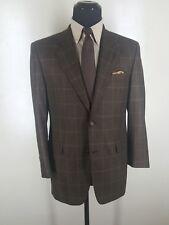 JACK VICTOR Blazer 2 Btn Center Vent 100% Wool 40 R Fit 41-42 Reg