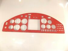 "Experimental Aircraft, ""Kit Fox"" Instrument Panel, 6061-T6, Aluminum, Wall Art"