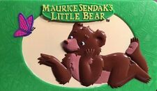 Maurice Sendak's Little Bear Hard Plastic Box Play Container Rare