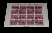 1980, LIECHTENSTEIN, HUNTING WEAPONS, 0.80, SHEET/16 , CTO, NICE! LQQK!